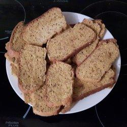 Pão paleo fofinho fatiado