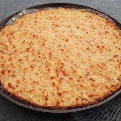 Base de pizza couve-flor
