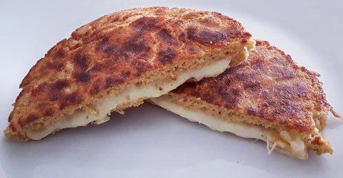 Tosta de Pão de frigideira de aveia