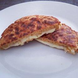Tosta de pão de farelo de aveia